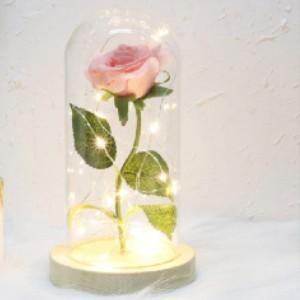 Rose eternelle sous cloche : Une fleur qui ne fane pas