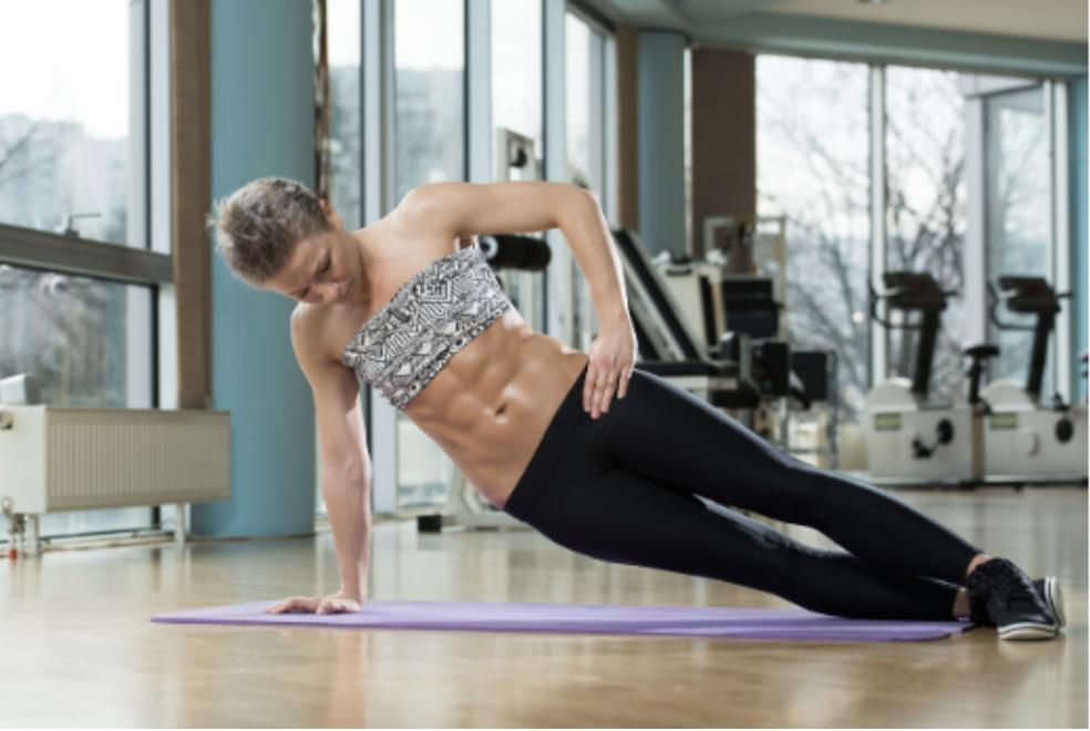 Gainage lateral contre le mal de dos